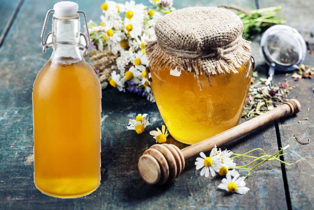 medni ocat, honigessig, vinegar honey