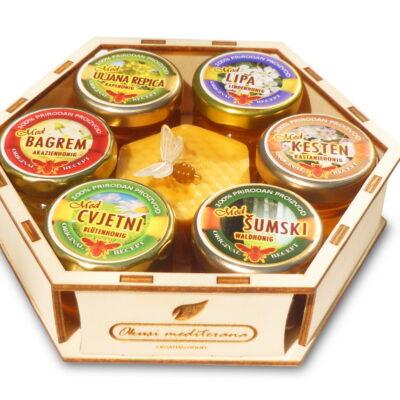 Geschenkpackung Honig und Bienenwachs