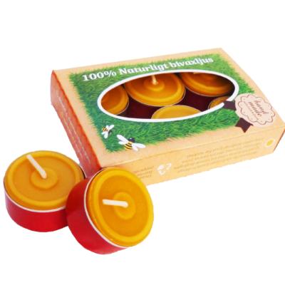 Bienenwachskerzen Teelichter Kraft box 6/1