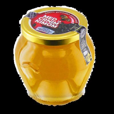 Honig mit Schwarzkümmel und Propolis-750 g
