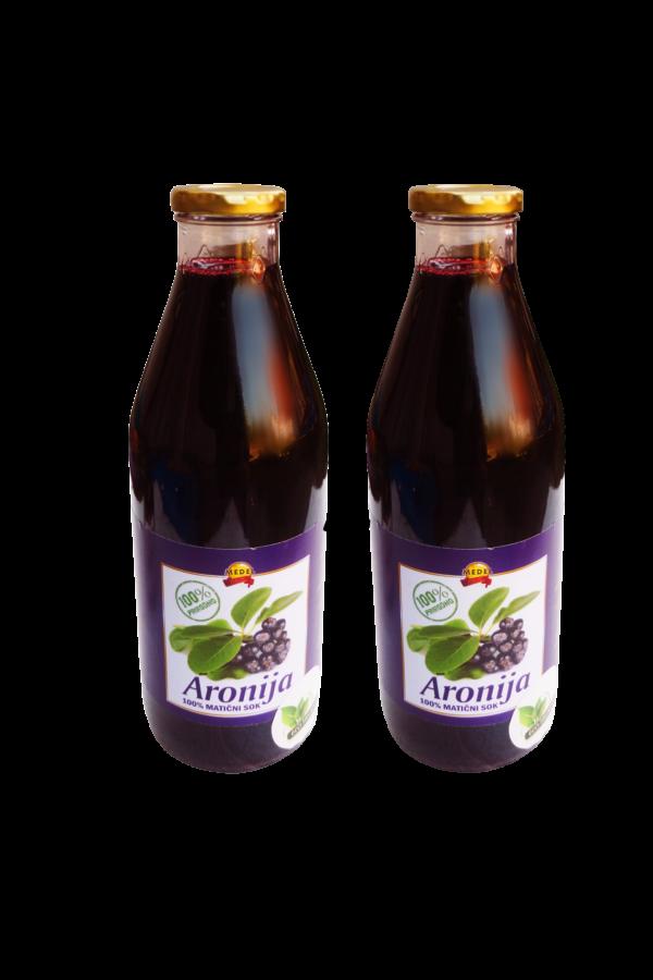 Angebot-100% Fruchtsaft Aronia 2pak -20% Einsparung