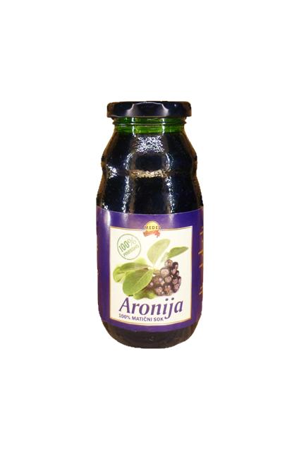 100% Fruchtsaft Aronia 0,2 l