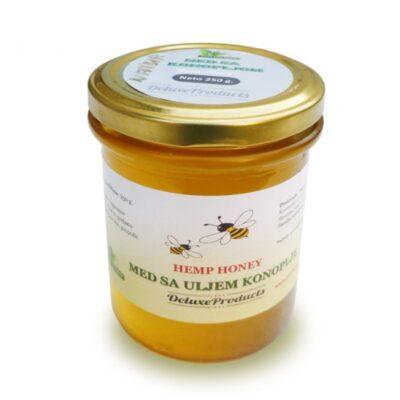 Honig mit Hanföl- 250 g.
