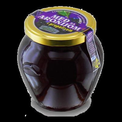 Honig mit Apfelbeere und Propolis 750g